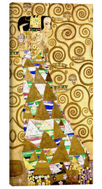 Canvas print  The Tree of Life (The Expectation) - Gustav Klimt
