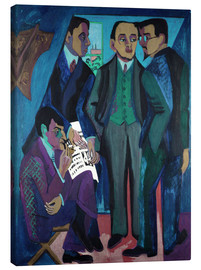 Canvas print  An artist community - Ernst Ludwig Kirchner