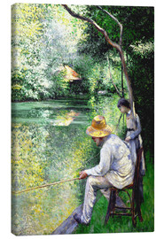 Canvas  Angler - Gustave Caillebotte