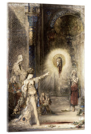 Acrylic print  The Apparition - Gustave Moreau