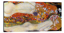 Alu-Dibond  Water Serpents II - Gustav Klimt