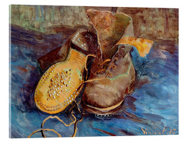 Acrylic print  The Shoes - Vincent van Gogh