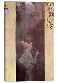 Canvas print  Love - Gustav Klimt
