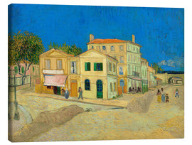 Canvas print  The Yellow House - Vincent van Gogh