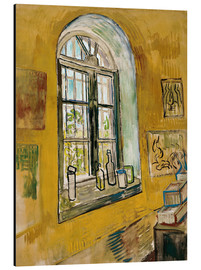 Aluminium print  Window in the Studio - Vincent van Gogh