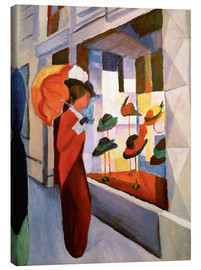 Canvas  Hat Shop - August Macke