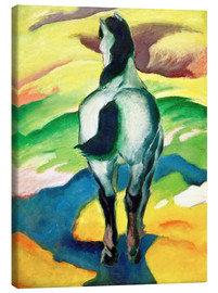 Canvas print  Blue Horse II - Franz Marc