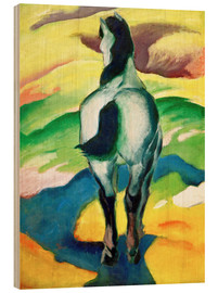 Wood  Blue horse II - Franz Marc