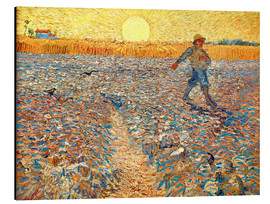 Aluminium print  Sower at Sunset - Vincent van Gogh