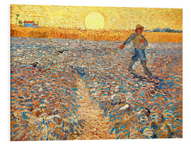 Foam board print  Sower at Sunset - Vincent van Gogh
