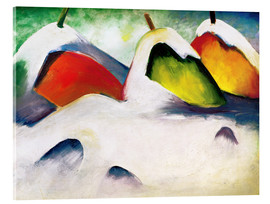 Acrylic glass  Hocken in the Snow - Franz Marc