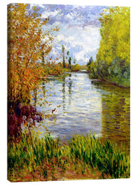 Canvas print  Side arm of the Seine - Gustave Caillebotte