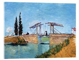Acrylic print  The drawbridge in Arles - Vincent van Gogh
