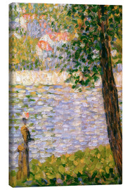 Canvas print  Morning walk - Georges Seurat
