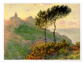 Premium poster  The church of Varengeville - Claude Monet