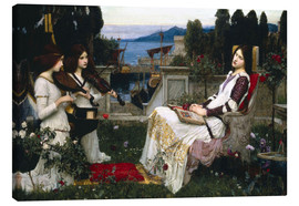 Canvas print  Saint Cecilia - John William Waterhouse