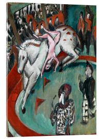 Acrylic print  Circus horse - Ernst Ludwig Kirchner