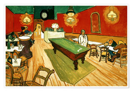 Premium poster  Night Cafe in Arles - Vincent van Gogh
