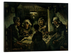 Acrylic print  The Potato Eaters - Vincent van Gogh