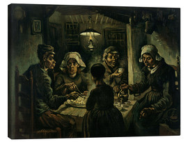 Canvas print  The Potato Eaters - Vincent van Gogh