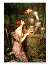 Premium poster  Lamia - John William Waterhouse