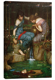 Canvas print  Nymphs Finding the Head of Orpheus - John William Waterhouse