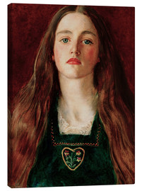 Canvas print  Sophie Gray - Sir John Everett Millais
