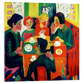 Acrylic print  Coffee table - Ernst Ludwig Kirchner
