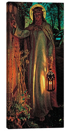 Canvas  The Light of the World - William Holman Hunt