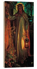 Wood print  The Light of the World - William Holman Hunt