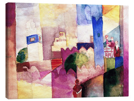 Canvas print  Kairouan III - August Macke