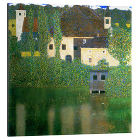 Aluminium print  Castle chamber on the Attersee I - Gustav Klimt