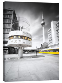 Canvas print  World Clock Berlin - Marcus Klepper