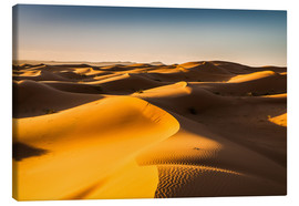 Canvas  Desert landscape at sunrise - Andreas Wonisch