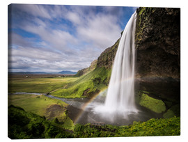 Andreas Wonisch - Sejalandsfoss Waterfall with Rainbow