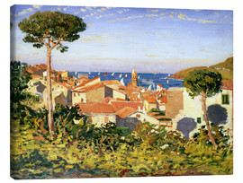 Canvas  Collioure, 1911 - James Dickson Innes