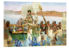 Acrylic print  The Finding of Moses by Pharaoh's Daughter - Lawrence Alma-Tadema