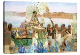 Canvas  The Finding of Moses by Pharaoh's Daughter - Lawrence Alma-Tadema