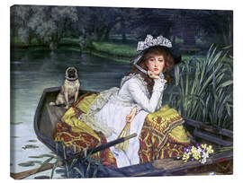 Canvas print  Reflections - James  Tissot