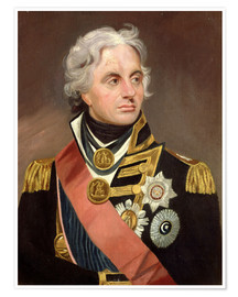 Premium poster Lord Nelson