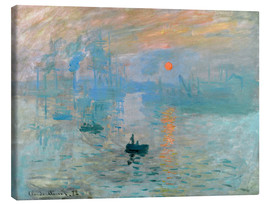 Canvas print  Sunrise - Claude Monet