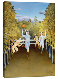 Canvas  the football players - Henri Rousseau