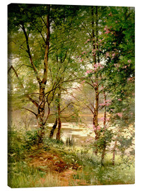 Canvas print  In the fairytale forest - Ernest Parton