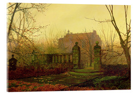 Acrylic print  Autumn Morning - John Atkinson Grimshaw