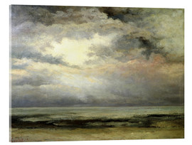 Acrylic print  The immensity - Gustave Courbet