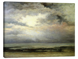 Canvas print  The immensity - Gustave Courbet