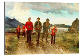 Aluminium print  'Listed for the Connaught Rangers': Recruiting in Ireland, 1878 - Lady Butler