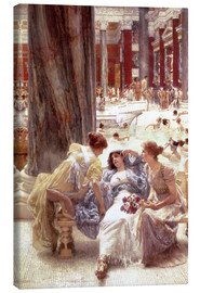Canvas print  The Baths of Caracalla - Lawrence Alma-Tadema