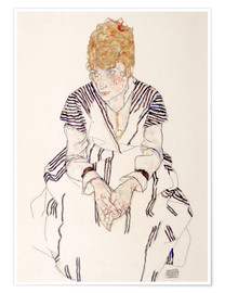 Premium poster Portrait of the artist's sister in law, Adele Harms