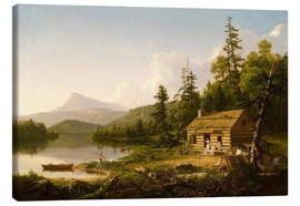 Canvas print  Home in the Woods - Thomas Cole